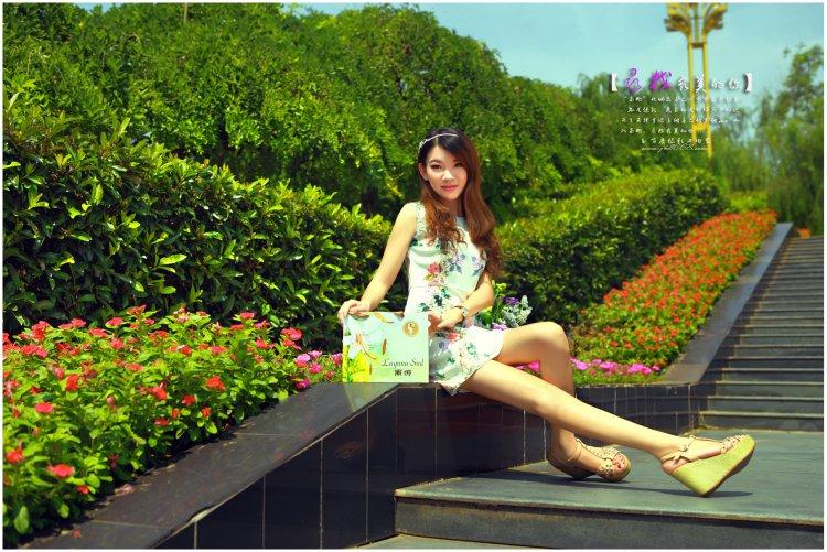 吉安滨江公园一角的风景