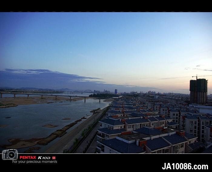 吉安城晚霞