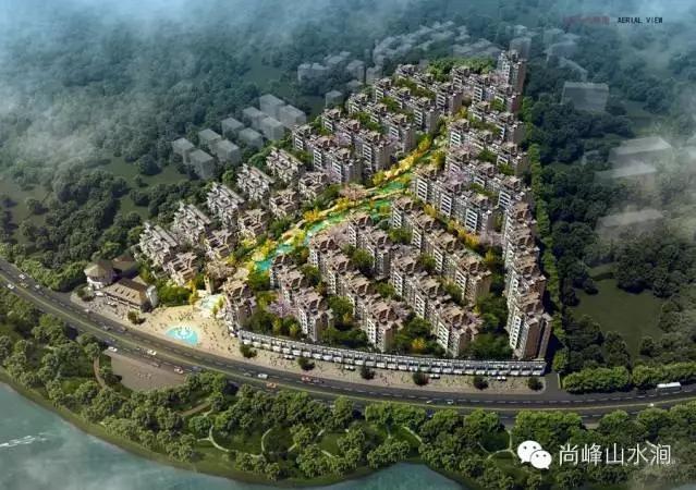 尚峰山水涧